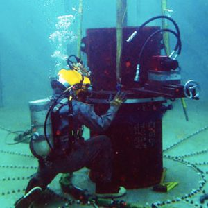 Onderzeese ontmanteling