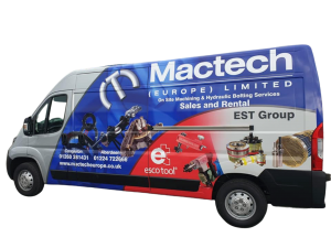 Mactech Europe Demonstration Van